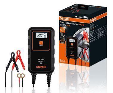 Зарядное устройство Osram 906, 12 - 24 В, 3 а