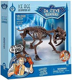Geoworld Ice Age Excavation Kit Smilodon Skeleton CL1677K