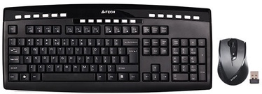 A4Tech 9200F Wireless Desktop Combo Black