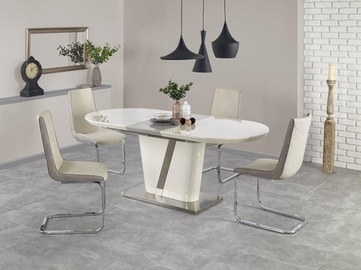 Halmar Dining Table Iberis Cream Gray