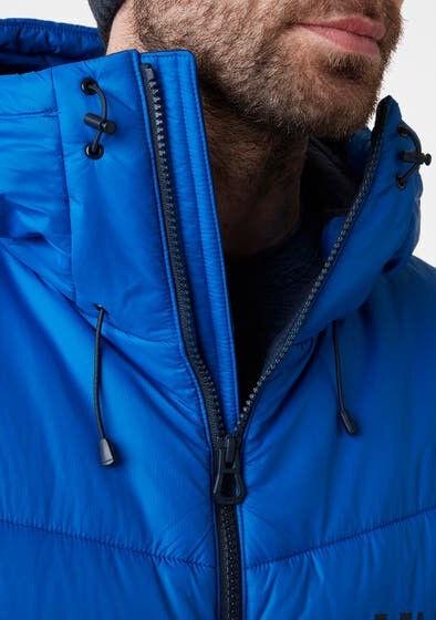 Helly Hansen Verglas Icefall Down Mens Jacket 63002-611 Blue Mounta S