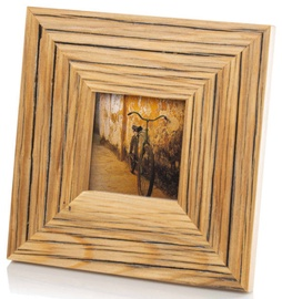 Bad Disain Photo Frame 10x10cm 138973 Brown