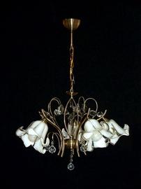 Griestu lampa Helam W-3691 5AB+WT 5x60W E27
