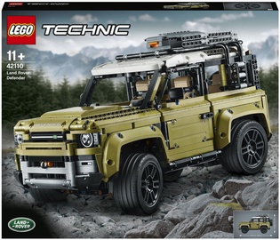 Конструктор LEGO Technic Land Rover Defender 42110, 2573 шт.
