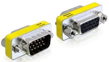 Delock Adapter VGA/VGA Yellow