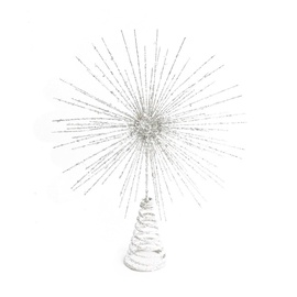 Верхушка для елки Christmas Touch MC18B-162955 White, 240 мм, 1 шт.