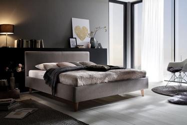 Кровать Meise Möbel, серый, 200x160 см