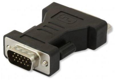 Techly Adapter DVI to VGA Black