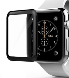 Fusion 5D Screen Protector For Apple Watch 3 38mm Black