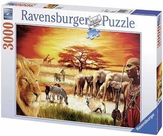 Ravensburger Puzzle Savannah Masai 3000pcs 17056