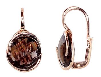 Diamond Sky Gold Earrings Quartz Greatness V