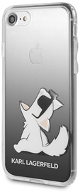 Karl Lagerfeld Choupette Fun Back Case For Apple iPhone 7/8 Black