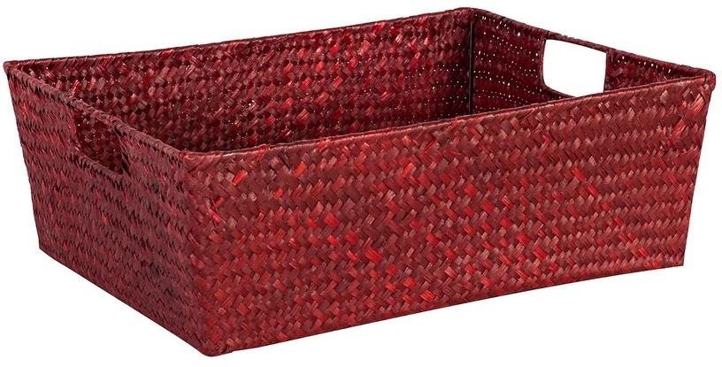 Home4you Basket Petra 3 34x25x14cm Red