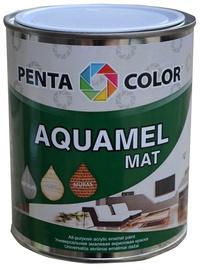 Pentacolor Aquamel Mat Emulsion Paint Black 0.7kg