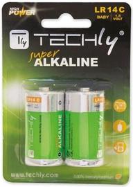 Techly Alkaline Batteries 2x C