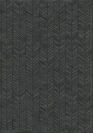 Kilimas Verbatex Farashe 786/473333, juodas/pilkas, 200x140 cm