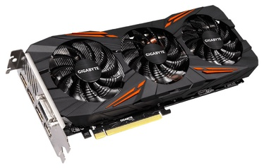 Gigabyte GeForce GTX1070 8GB GDDR5 PCIE GV-N1070G1GAMING-8GD
