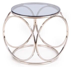 Kafijas galdiņš Halmar Venus S, sudraba, 500x500x550 mm