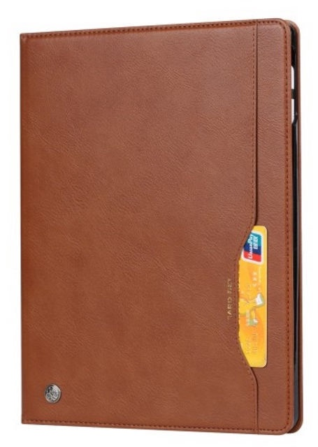 TakeMe Eco-leather Book Case For Apple iPad Pro 12.9 2018 Brown