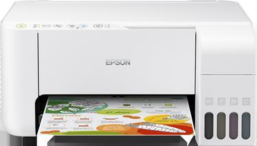 Multifunktsionaalne printer Epson L3156, tindiga, värviline