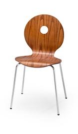 Svetainės kėdė K233, ruda