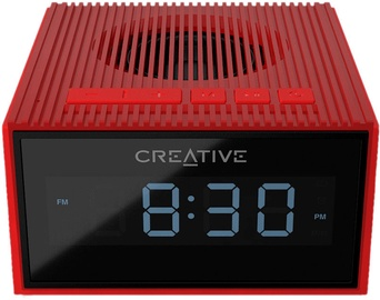 Belaidė kolonėlė Creative Chrono Wireless Speaker with FM Radio Red