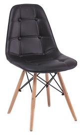 Стул для столовой Signal Meble Axel Buk Black, 1 шт.