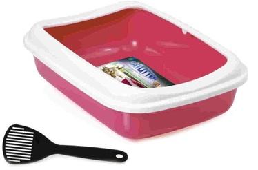 Georplast Toilet for Cats Junior 38x28x10.5cm Pink