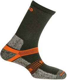 Kojinės Mund Socks Cervino Grey/Orange, 34-37, 1 vnt.