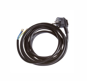 Okko Cable With Plug KF-CR2 3x1.5 3m Black
