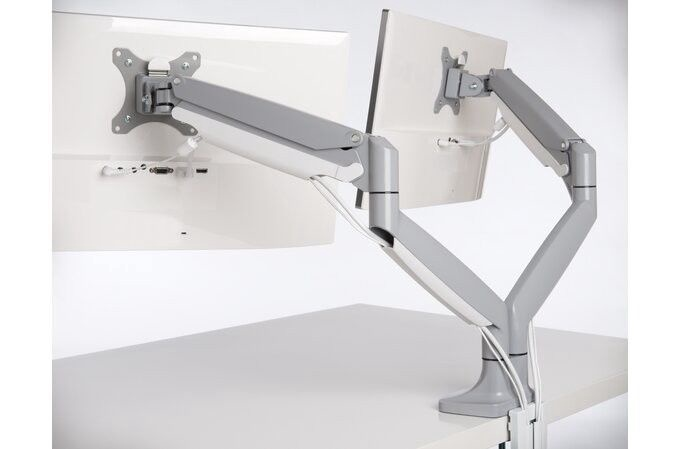 Kensington SmartFit One-Touch Heigh Adjustable Dual Monitor Arm
