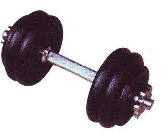 Sport Systems Metal Dumbbells, 1 x 15 kg