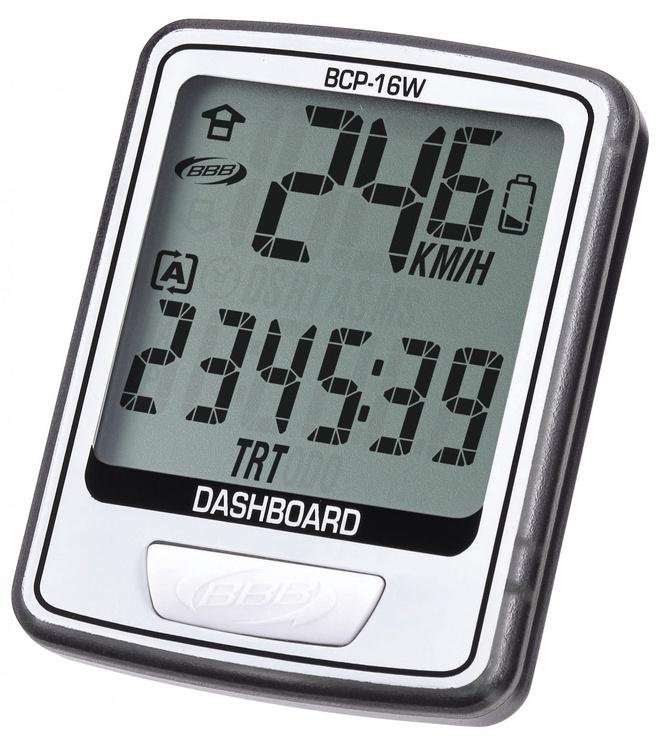 BBB Cycling BCP-16W DashBoard Wireless 12