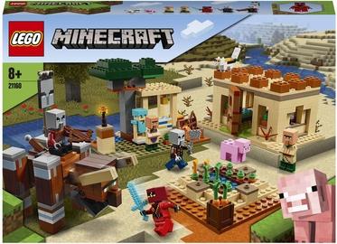 Konstruktor LEGO Minecraft Rüüstajate röövretk 21160, 562 tk
