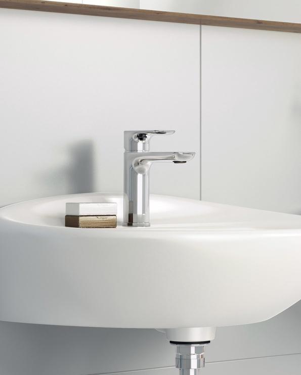 Vannas istabas izlietnes jaucējkrāns Estetic, hromēts, Gustavberg GB41218051