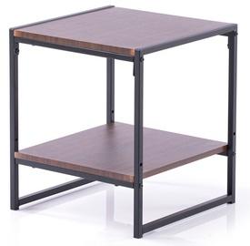 Kafijas galdiņš Homede Coxe, brūna, 400x400x450 mm