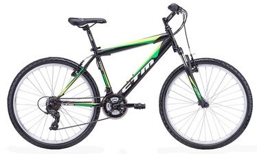"CTM Axon 17"" 26"" Black Green 18"