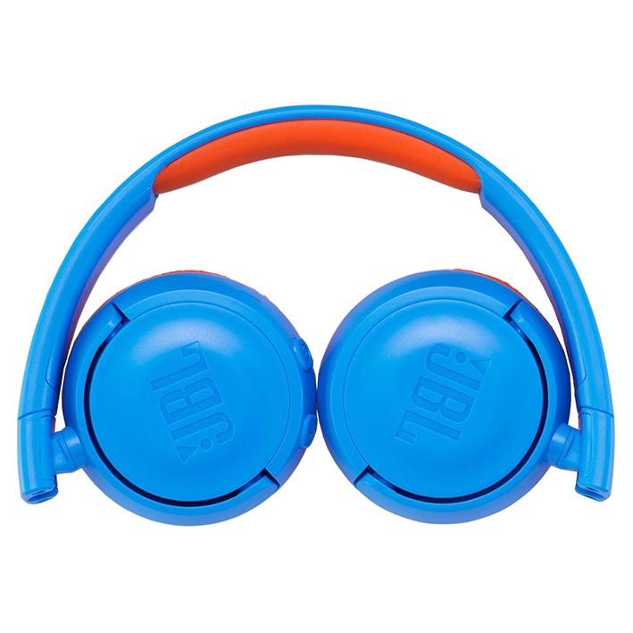Belaidės ausinės JBL JR300BT Blue/Orange
