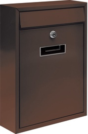 Vorel 78557 Mailbox 260x360x80mm Brown