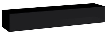 TV galds ASM Switch RTV 1, melna, 1800x400x300 mm
