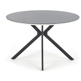 Обеденный стол Halmar Avelar Black, 1200x1200x760 мм