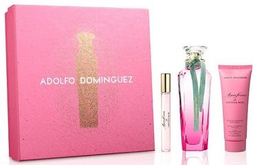Набор для женщин Adolfo Dominguez Agua Fresca De Gardenia Musk 3pcs Gift Set