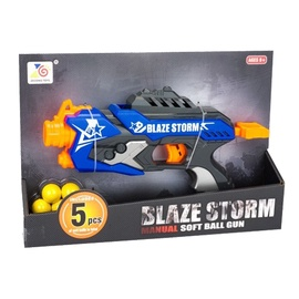 Rotaļlietu ierocis Zecong Toys Blaze Storm Manual Soft Bullet Gun 5 Bullets ZC7112
