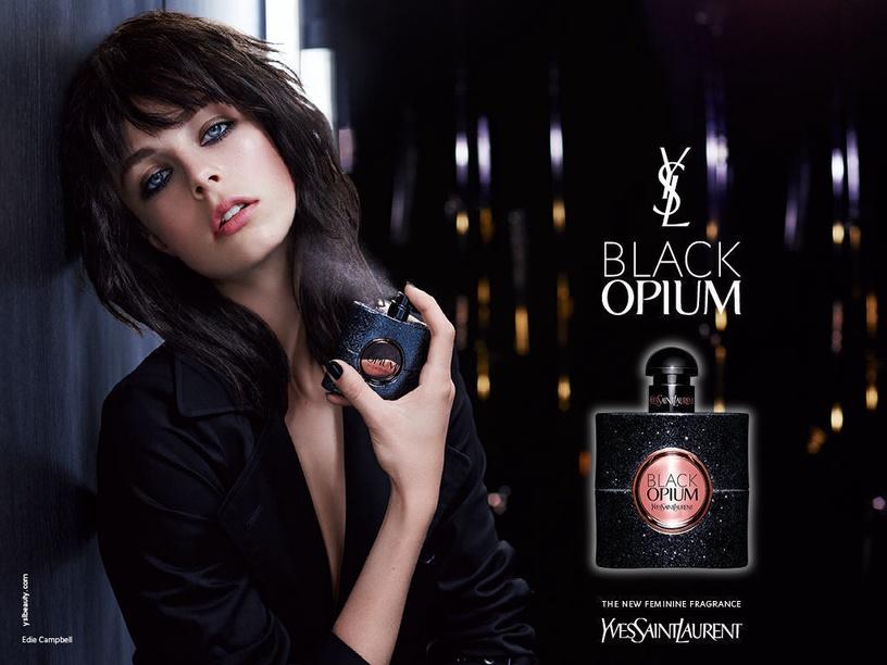 Подарочный набор для женщин Yves Saint Laurent Black Opium 4pcs Set 94.5ml EDP