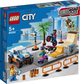 Konstruktorius LEGO City riedlenčių parkas 60290