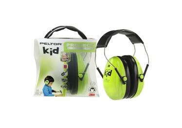Apsauginės ausinės vaikams 3M Peltor Kid, žalios