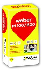 Spalvotas mūro mišinys WEBER M100/600, juodos spalvos