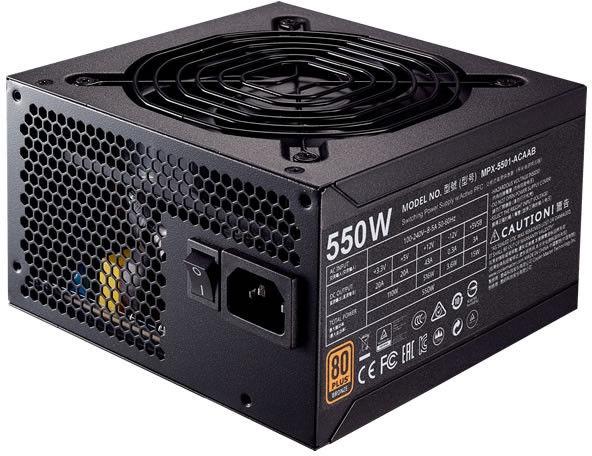 Cooler Master MWE Bronze 550 550W MPX-5501-ACAAB-EU