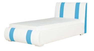 Bodzio Aga AG74 Bed 90x200 White/Sky Blue
