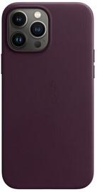Futrālis Apple iPhone 13 Pro Max Leather Case with MagSafe, bordo
